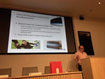 Neil McRae talking about BT's IPv6 deployment.