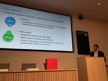 Mat Ford describes ISOC's role in IPv6 deployment measurement.