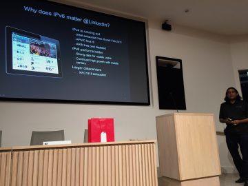 Zaid Ali explains the importance of IPv6 to LinkedIn.