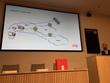 Richard Patterson talks on Sky's IPv6 deployment experiences.